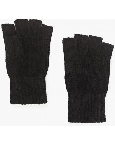 Текстильные черные перчатки Jack & Jones