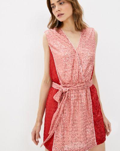 Розовое вечернее платье Silvian Heach
