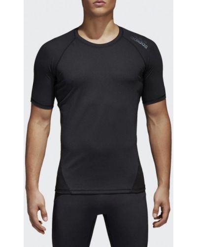 Черная спортивная футболка Adidas