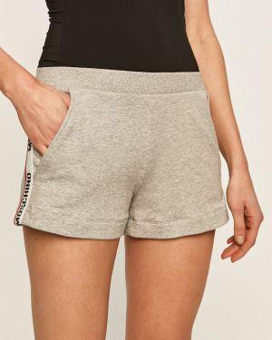 Szare szorty bawełniane Moschino Underwear
