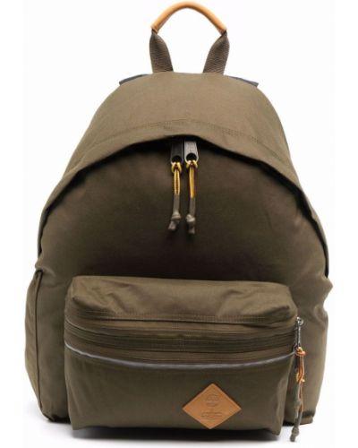 Plecak skórzany - zielony Eastpak