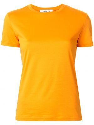 Koszula z krótkim rękawem z kwiatowym nadrukiem prosto Enfold
