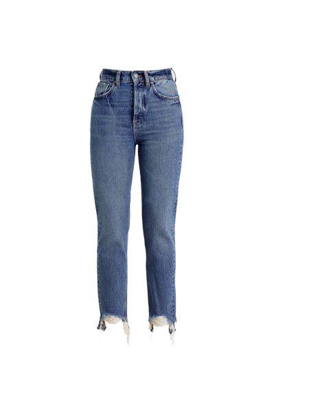 Niebieskie mom jeans eleganckie Anine Bing