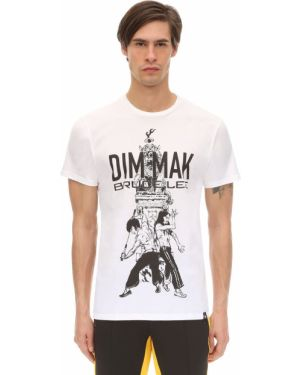 Biały t-shirt Dim Mak Collection