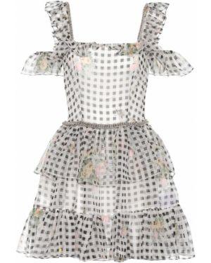 Платье мини футляр шелковое Christopher Kane