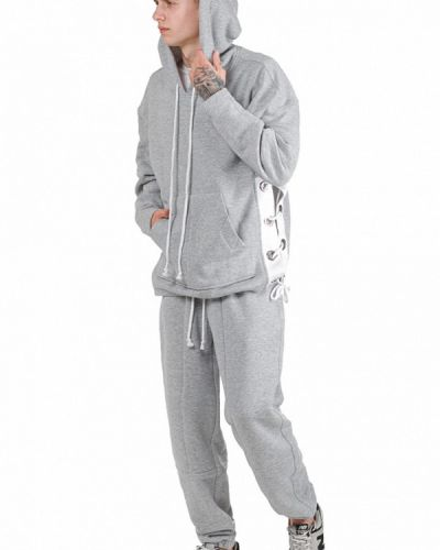 Серый спортивный костюм Fusion