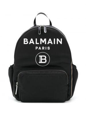 Сумка черная через плечо Balmain Kids
