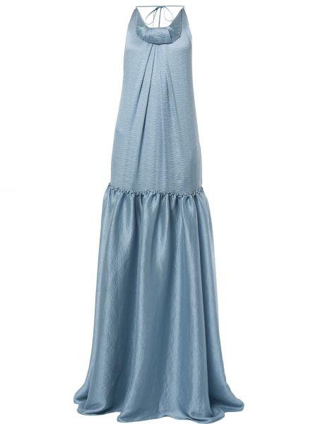 Платье с заниженной талией со складками Roland Mouret
