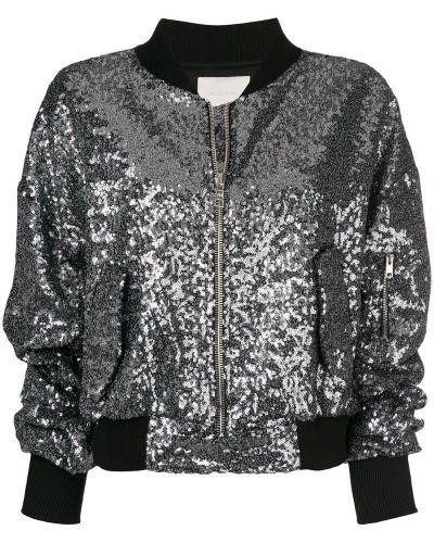 Серебряная куртка Amen