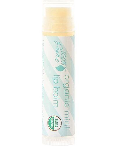 Базовый бальзам для губ мятный свободного кроя 100% Pure