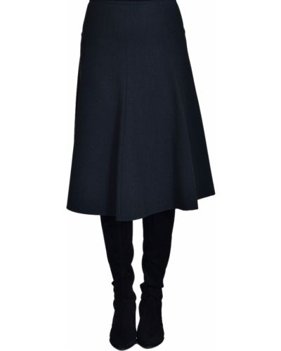 Хлопковая юбка - серая Iblues