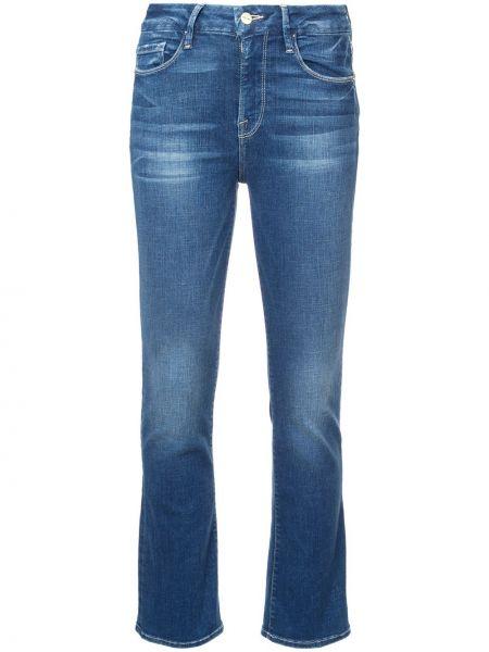 Укороченные джинсы расклешенные mom Frame