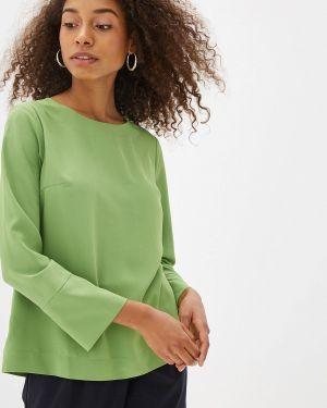 Блузка с бантом зеленый Arianna Afari