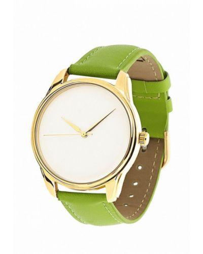 Часы зеленый Ziz