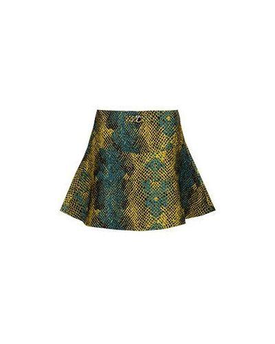 Юбка мини зеленый Versace Collection