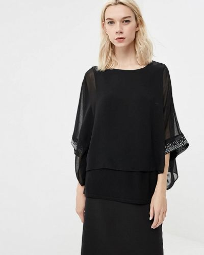 Блузка осенняя черная Wallis