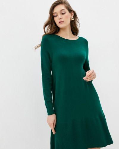 Зеленое вязаное платье Savage