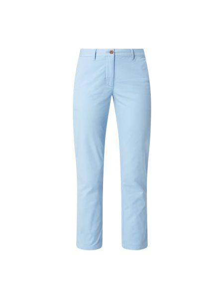 Bawełna bawełna niebieski chinosy z kieszeniami Gant