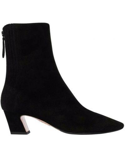 Czarne ankle boots Aquazzura