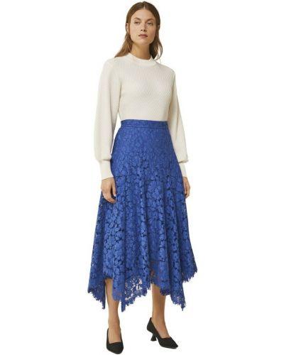 Niebieska spódnica koronkowa Ivy & Oak