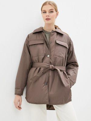 Утепленная куртка - коричневая Vera Nicco