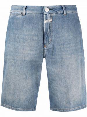 Свободные хлопковые джинсовые шорты свободного кроя Closed