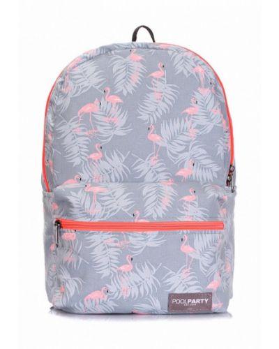 Серый рюкзак Poolparty