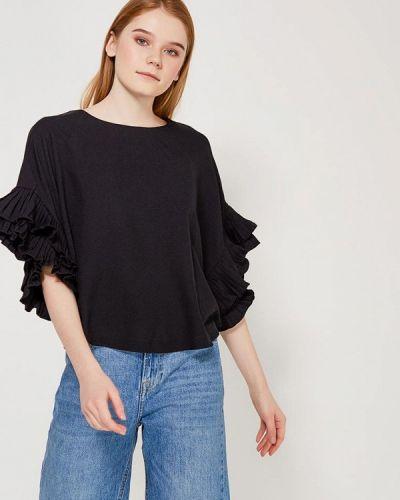 Блузка весенний черная Paccio