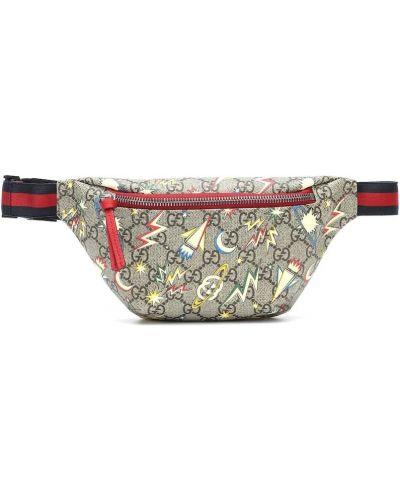 Bawełna bawełna beżowy torba z paskiem Gucci Kids