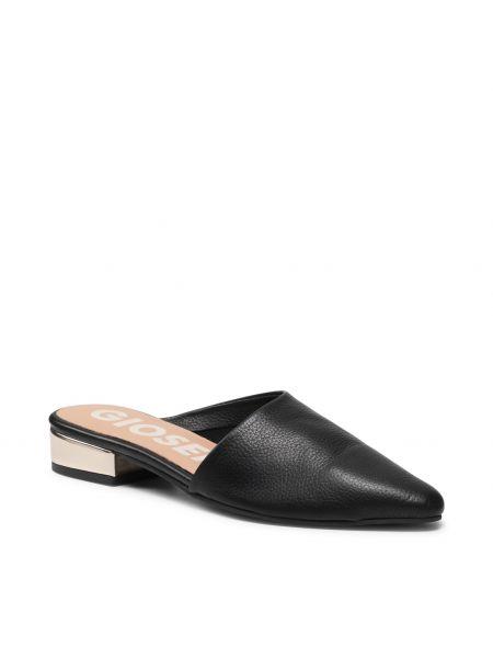 Czarne sandały casual Gioseppo