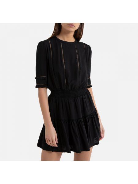 Платье мини миди из вискозы La Redoute