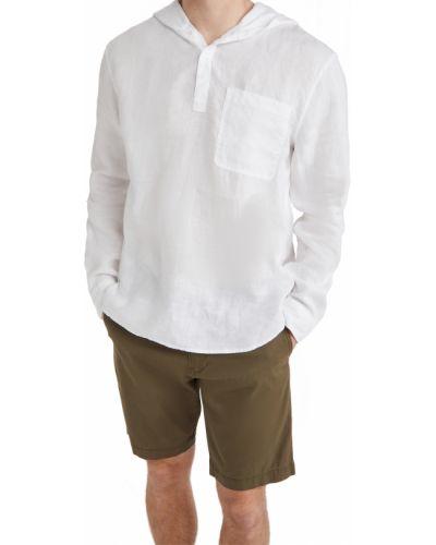 Biały pulower z długimi rękawami Vince