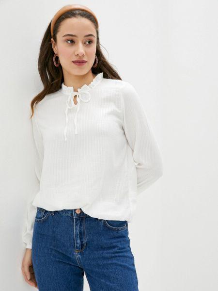Блузка с длинным рукавом белая весенний Defacto