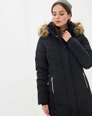 Утепленная куртка осенняя черная Luhta