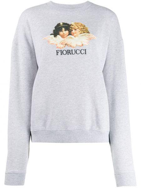 Толстовка винтажная - серая Fiorucci