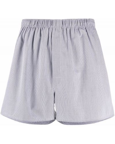 Белые хлопковые носки Sunspel