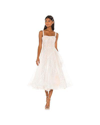 Платье миди с пайетками сетчатое Bronx And Banco