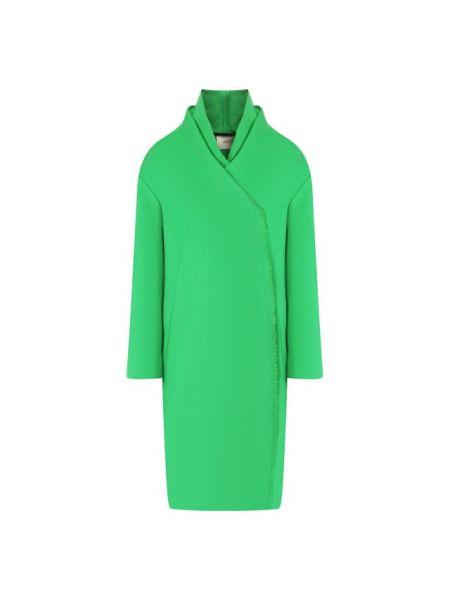 Пальто зеленое шерстяное Dorothee Schumacher