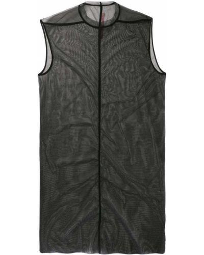 Платье с вырезом мешковатое Rick Owens Lilies