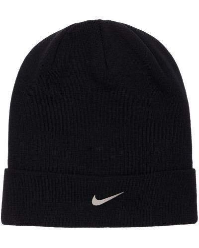 Czapka beanie - czarna Nike