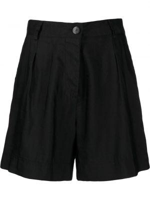 Черные шорты на молнии Forte Forte