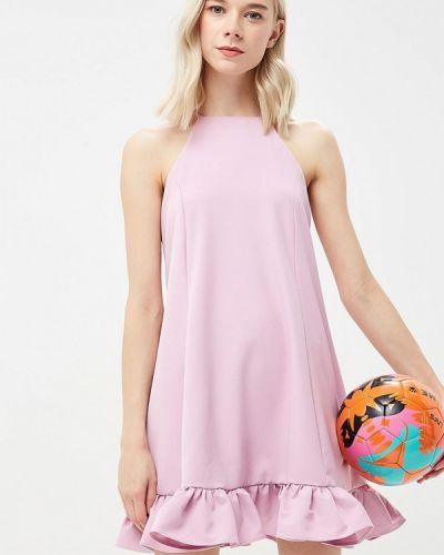 Фиолетовое платье прямое Glamorous
