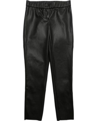 Skórzany czarny spodnie rozciągać Zadig&voltaire