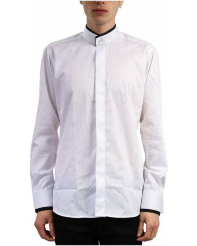 Biały smoking z długimi rękawami oversize Karl Lagerfeld