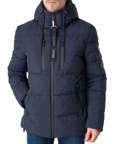 Куртка на молнии - синяя Reset