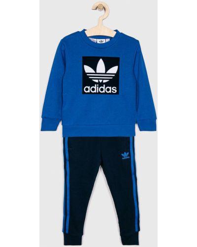 Темно-синий костюм Adidas Originals
