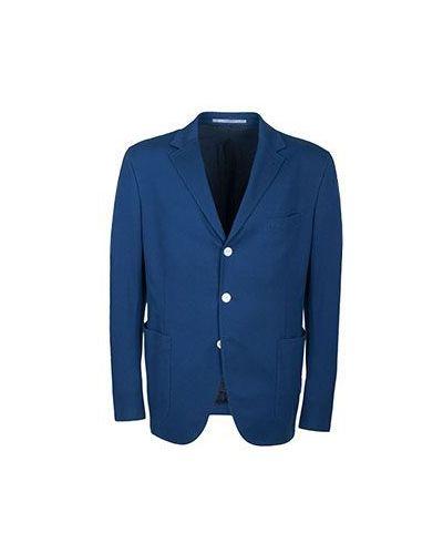 Пиджак синий Cantarelli