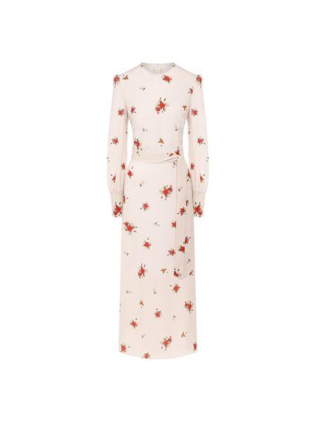 Шелковое платье с капюшоном с воротником на торжество A La Russe