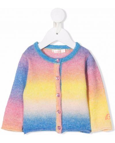 Różowy sweter z akrylu Billieblush