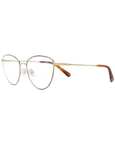 Żółte okulary Chloe